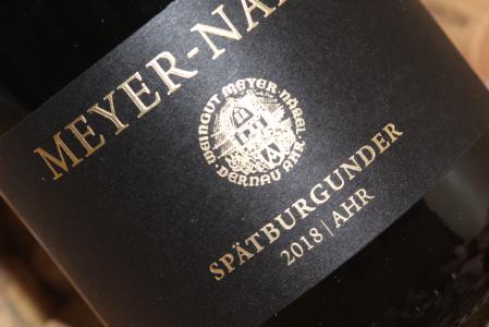 2018 Spätburgunder   Meyer-Näkel