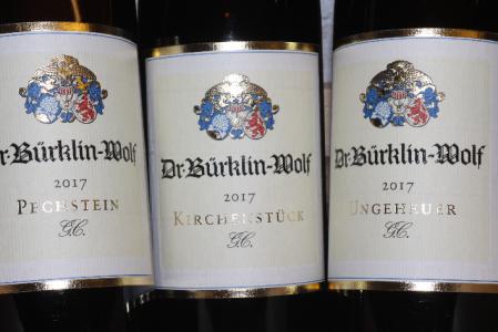 2017 3er-Paket Grosses Gewächs Bürklin-Wolf KIRCHENSTÜCK PECHSTEIN und UNGEHEUER