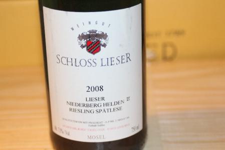 2008 Niederberg Helden Spätlese Riesling