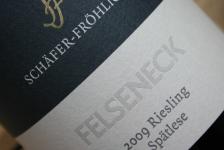 2009 Bockenauer FELSENECK Riesling Spätlese Goldkapsel