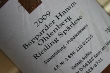 2009 Bopparder Hamm Ohlenberg Edition MM