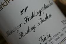 2010 Monzinger Frühlingsplätzchen Riesling Auslese