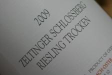 2009 Zeltinger Schlossberg Riesling trocken