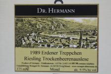 1989 Erdener Treppchen Riesling Trockenbeerenauslese