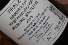 2013 Kastanienbusch Riesling Spätlese