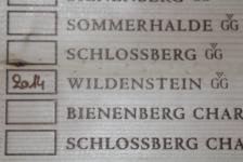 2014 WILDENSTEIN GG Spätburgunder