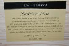 2018 Kollektionskiste Dr.Hermann edelsüß | 6x 375 ml | Kiste 007 von 25