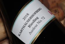 2018 KARTHÄUSERHOFBERG Riesling Auslese No.72 VDP.Versteigerungswein